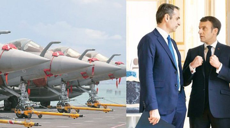 Ένοπλες Δυνάμεις: Η συμφωνία που αλλάζει τις ισορροπίες – 12 Rafale αγοράζει η Ελλάδα
