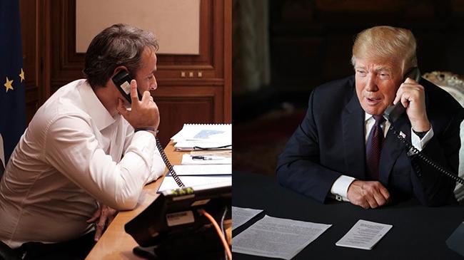 Τηλεφώνημα Τραμπ στον Μητσοτάκη για την κρίση στην Ανατολική Μεσόγειο
