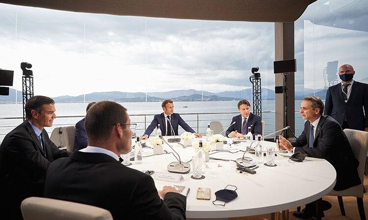 MED 7: Πλήρης στήριξη σε Ελλάδα και Κύπρο, προειδοποιήσεις σε Τουρκία