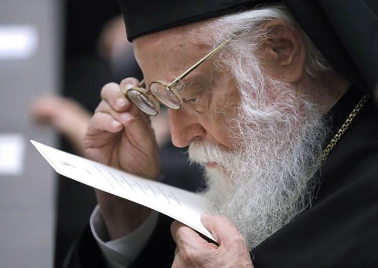 Βγήκε από τον νοσοκομείο ο Αρχιεπίσκοπος Αλβανίας Αναστάσιος