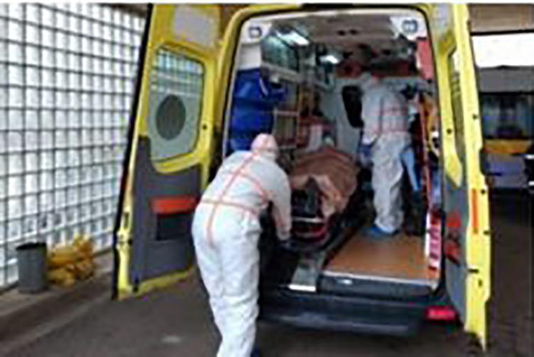 Στο Πανεπιστημιακό Νοσοκομείο Ιωαννίνων μεταφέρθηκαν Βορειοηπειρώτες με βαριά συμπτώματα κορονοϊού