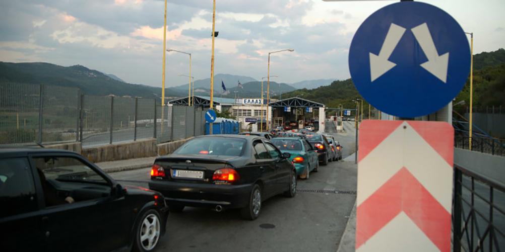 Αλλοδαπός παραβίασε τις μπάρες στην Κακαβιά για να εισέλθει στη χώρα