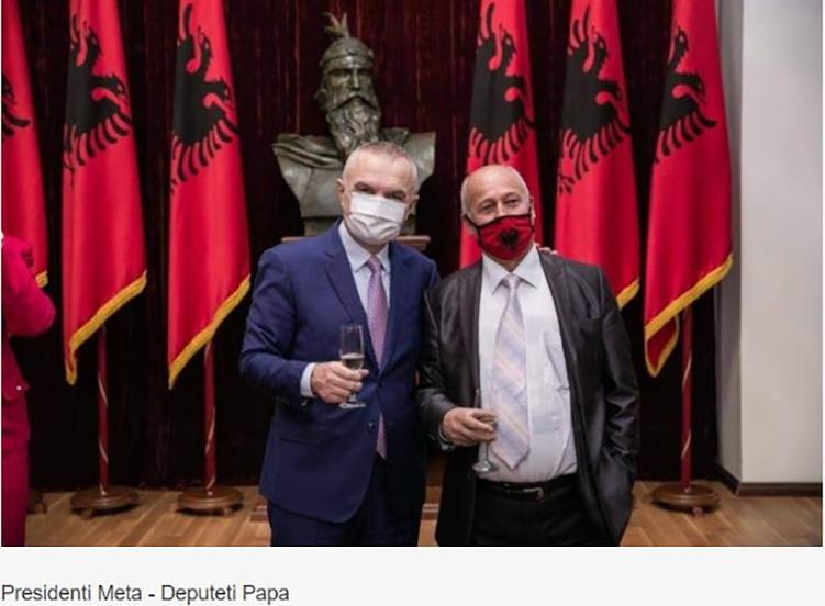 Αλβανία: Τα Εθνικά Θέματα ενώνουν τον πρόεδρο Μέτα με τον (ανθέλληνα) Κοστάκ Παπά