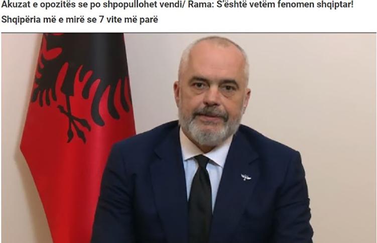Έντι Ράμα: Η μετανάστευση δεν είναι μόνο αλβανικό φαινόμενο!