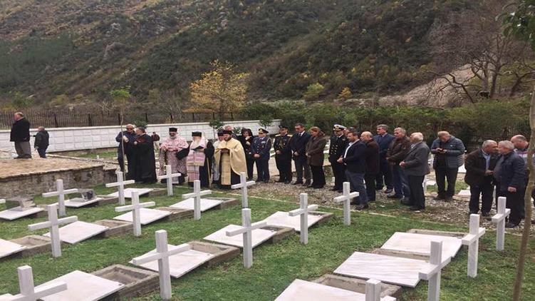 Αλβανία: Νέο νεκροταφείο για τους Έλληνες ήρωες του '40