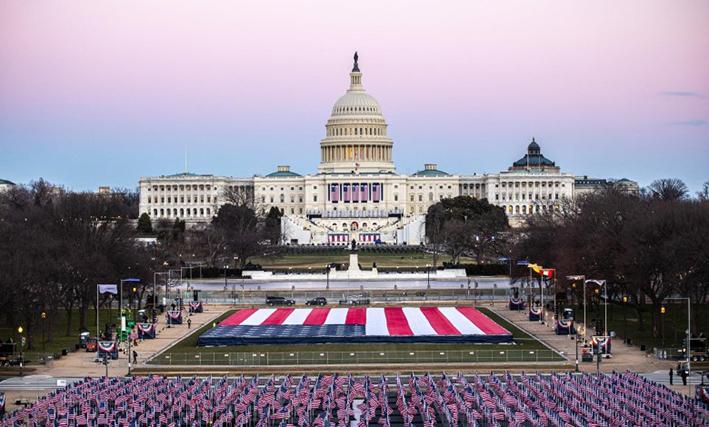Ο Μπάιντεν ορκίστηκε 46ος πρόεδρος των ΗΠΑ: Σήμερα γιορτάζουμε τη Δημοκρατία