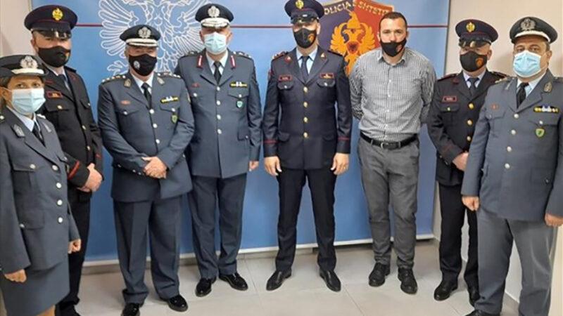 Συναντήσεις αστυνομικών διευθυντών Ηπείρου- Δ. Μακεδονίας με ομολόγους της αλβανικής αστυνομίας