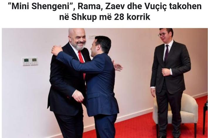 «Μίνι Σένγκεν»: Ράμα, Ζάεφ και Βούτσιτς συναντιούνται στα Σκόπια στις 28 Ιουλίου
