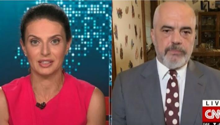 Συνέντευξη Ράμα στο CNN: Η Αλβανία θα φιλοξενήσει 4000 Αφγανούς