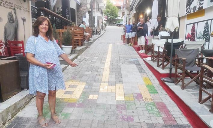 Η μητέρα του Τεντόγλου δείχνει το «χρυσό» 8,41 σε δρόμο στα Γρεβενά