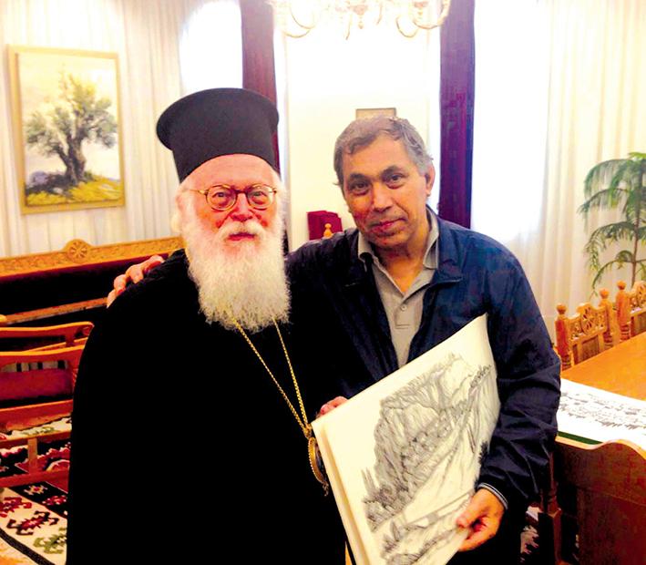 Κώστας ΡΑΚΑΣ, ταλαντούχος Έλληνας Μειονοτικός γελοιογράφος: «Από κανέναν μην ελπίζεις τη λύτρωση»