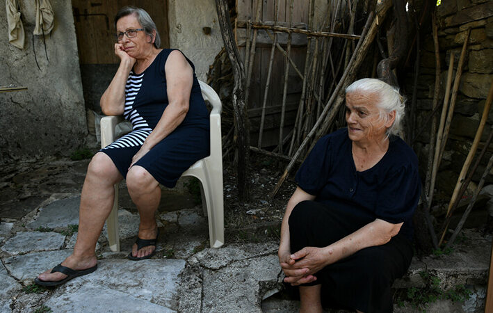 Ένα χωριό που ανήκει το μισό στην Ελλάδα και το άλλο μισό στην Αλβανία
