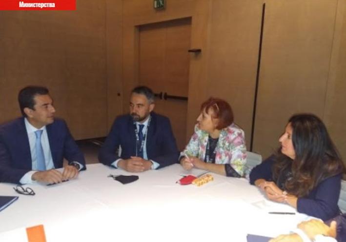 Οι υπουργοί Ενέργειας Βουλγαρίας- Ελλάδας συζήτησαν για τη διασύνδεση των δύο χωρών