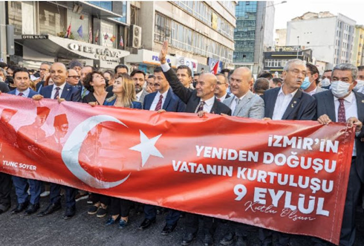 Οι Τούρκοι γιόρτασαν την απελευθέρωση της «ελληνοκρατούμενης» Σμύρνης