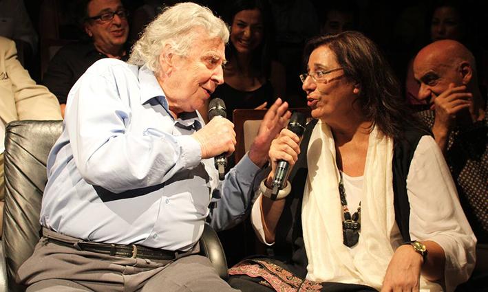 Μαρία Φαραντούρη:  «Ο Μίκης είχε την τύχη πριν φύγει να ζήσει την αθανασία του»