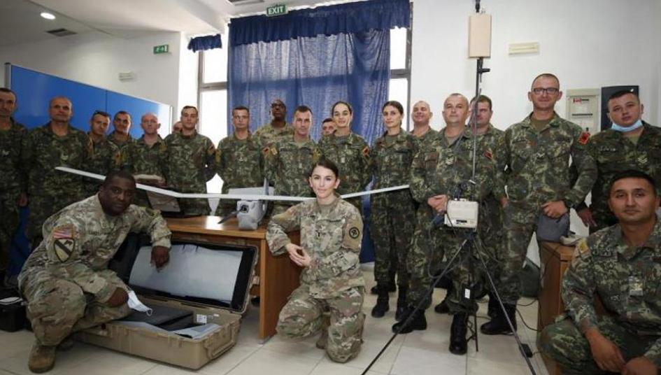 Οι ΗΠΑ δώρισαν στην Αλβανία drone Puma