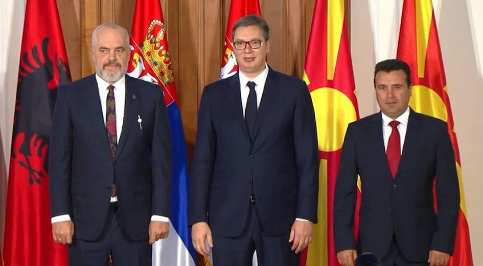 Οι Βρυξέλλες έχουν επιφυλάξεις για την περιφερειακή πρωτοβουλία «Ανοιχτά Βαλκάνια»