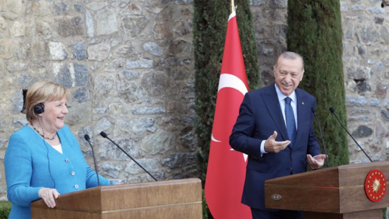 Merkel: Τουρκία και Γερμανία έχουν πάντα κοινά συμφέροντα κι έτσι θα το δει και η επόμενη ομοσπονδιακή κυβέρνηση