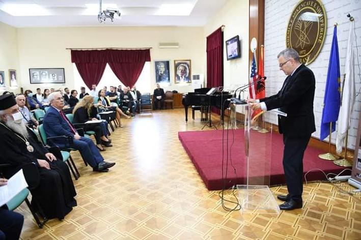 Η Ακαδημία Επιστημών της Αλβανίας για τον Άγιο Ιωάννη Κουκουζέλη