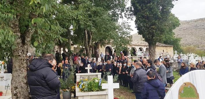 Σε κλίμα βαθιάς συγκίνησης τελέστηκε σήμερα το μνημόσυνο υπέρ της αναπαύσεως της ψυχής του Κωνσταντίνου Κατσίφα