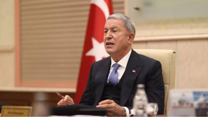 Ο Τούρκος υπουργός Άμυνας ζητά διάλογο με την Ελλάδα…