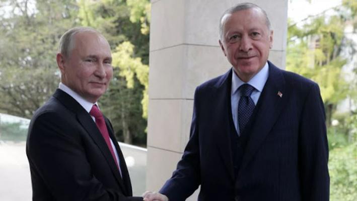 Το Κρεμλίνο αποκάλυψε τις λεπτομέρειες των συνομιλιών μεταξύ Πούτιν και Ερντογάν