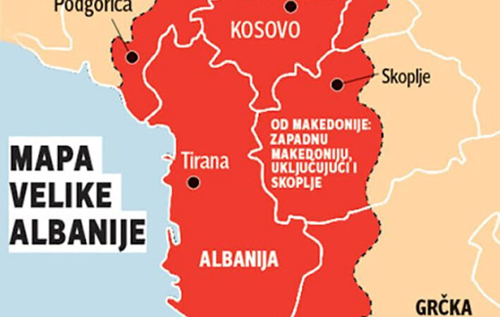 «Γιατί η Μεγάλη Αλβανία είναι επικίνδυνη», ρωσικό δημοσίευμα